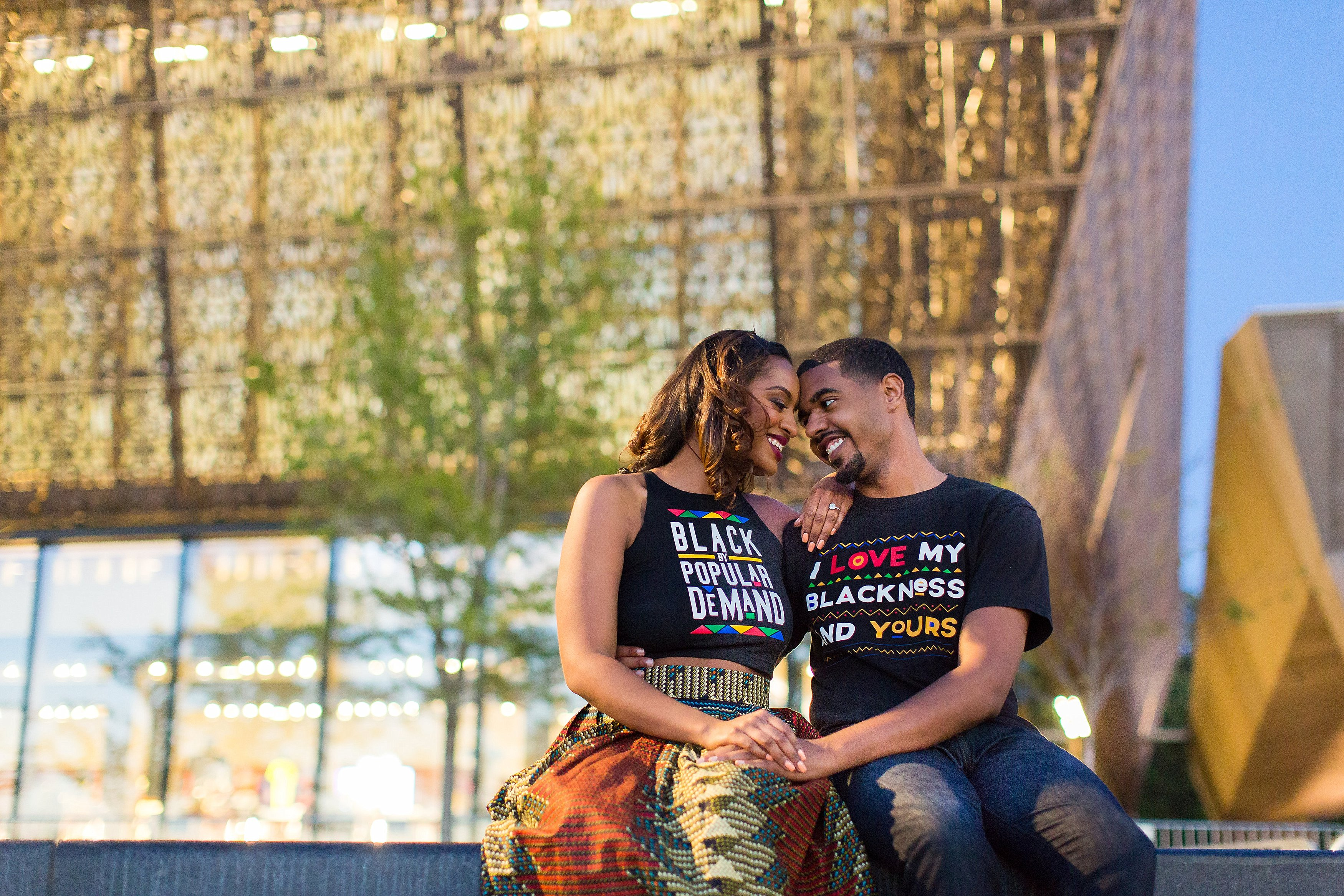 A supreme love washington dc engagement session alyzza for African photoshoot ideas